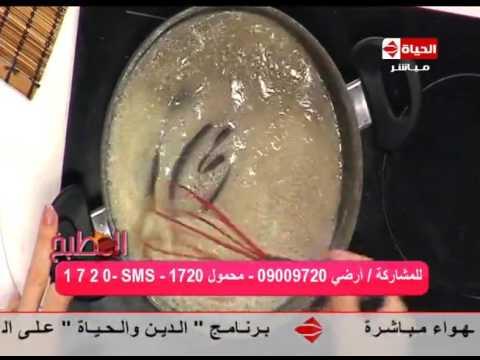 """برنامج المطبخ - الشيف /آية حسنى - طريقة  عمل """"طاجن البطاطس بالبشاميل """" AL matbkh"""