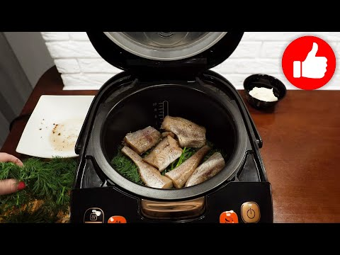 Без жарки и возни! Я не могу перестать готовить рыбу в мультиварке! Вкуснее ужина еще не было!