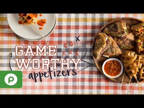 Game Worthy Appetizers. A Publix Aprons recipe.