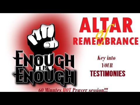 Altar of Remembrance - ENOUGH IS ENOUGH!!! Episode 8