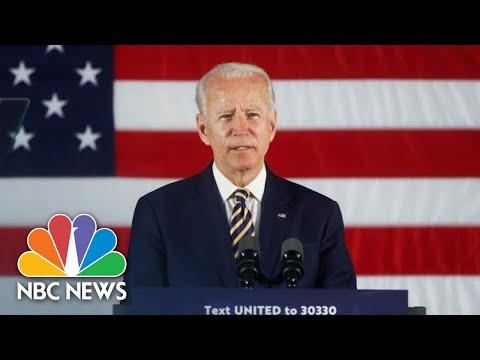 Live: Biden Delivers Remarks In Wisconsin | NBC News
