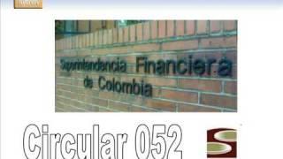 circular 052 superfinanciera