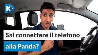 Connettere cellulare alla Fiat PANDA con Bluetooth