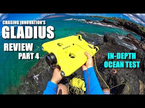 GLADIUS Submersible ROV Drone Review - Part 4 - In-Depth Ocean Test + Wireless Range Test - UCVQWy-DTLpRqnuA17WZkjRQ