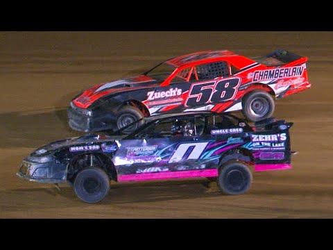 Street Stock Feature | Bradford Speedway | 8-6-21 - dirt track racing video image