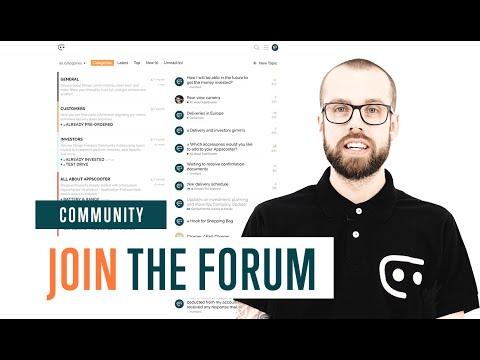 Join the Etergo Forum
