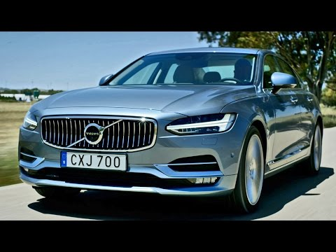 2017 Volvo S90 and V90 - footage
