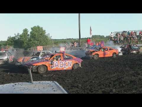 12 YEARS OLD & UNDER DEMOLITION DERBY