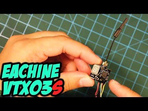 ☀ Популярнейший микро видеопередатчик, обновленная версия - теперь со SmartAudio! [Eachine VTX03S] - UC29J5CXmsnqX7JPAzlU9yCQ
