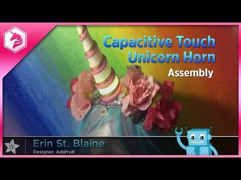 LEARN: Capacitive Touch Unicorn Horn: Assembly @adafruit #adafruit