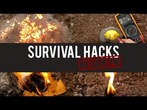 Survival Hacks Tested