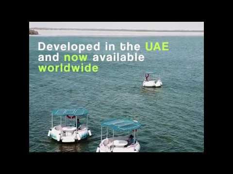 Eco Donut Boats at the Eastern Mangroves Marina Abu Dhabi