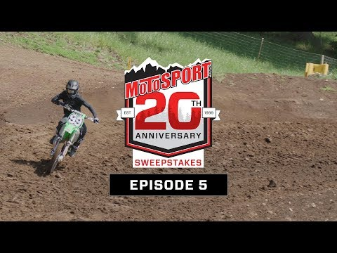 The MotoSport.com 20th Anniversary Sweepstakes | Episode 5
