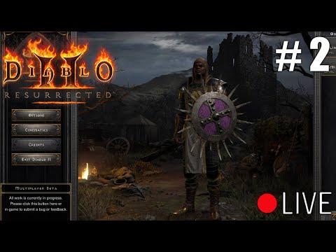 Diablo 2 Resurrected Beta - First Impressions Livestream Part 2