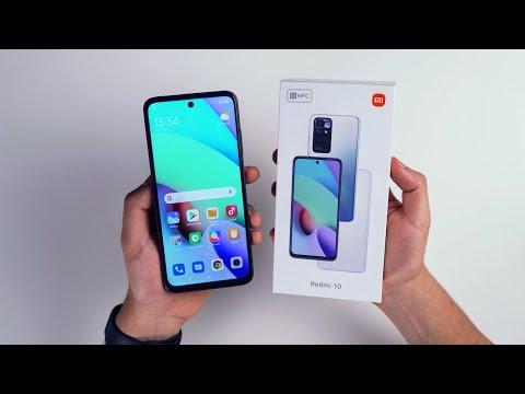 Xiaomi Redmi 10 (Český unboxing od XM.cz)