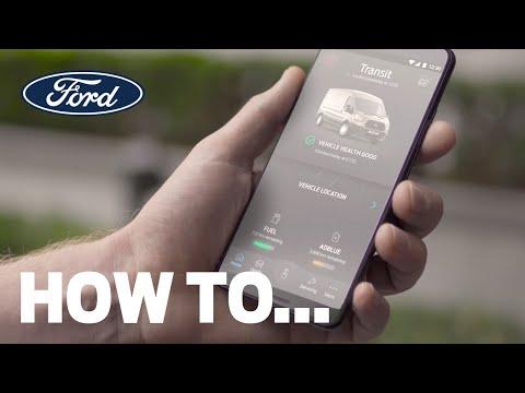 Jak aktivovat modem ve voze pomocí aplikace FordPass Pro | Ford Česká republika