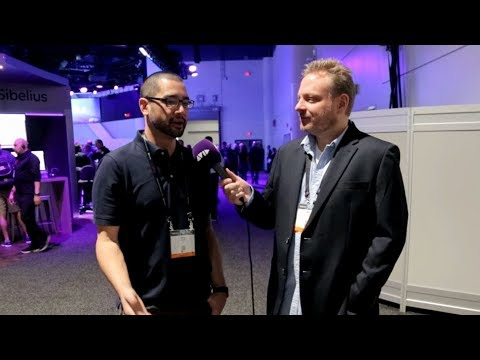LIVE FROM #AVID AT #NABSHOW 2018   Mike Nuget, colorist and editor