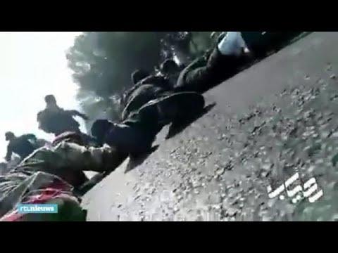 Beelden van aanslag Iran - RTL NIEUWS