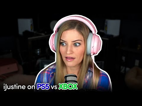 iJustine Weighs In - PS5 or XBOX?!