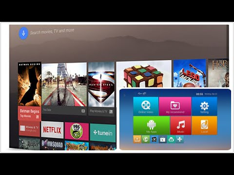 Leanback Launcher Android