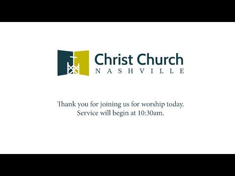 03/29/2020 - Christ Church Nashville LIVE