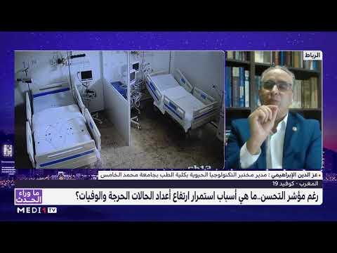 عز الدين الإبراهيمي يسلط الضوء على معدل وفيات كورونا بالمغرب