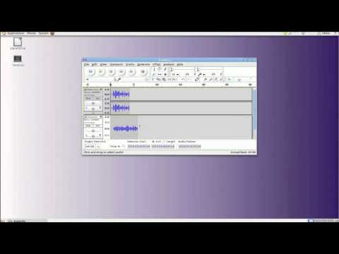 Mixing Voice and Music Audio in Audacity