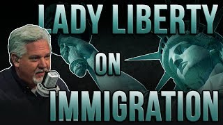 Lady Liberty Does NOT Represent Open Borders, Unlimited Immigration