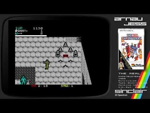 THE REAL GHOSTBUSTERS Zx Spectrum by Activision