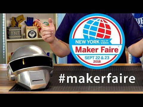I'M GOING TO NEW YORK MAKER FAIRE! #wmfny18