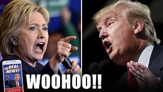 WOOHOO!! HILLARY GOT CAUGHT DOING THIS IN COMMENCEMENT SPEECH TO TAKEDOWN TRUMP !