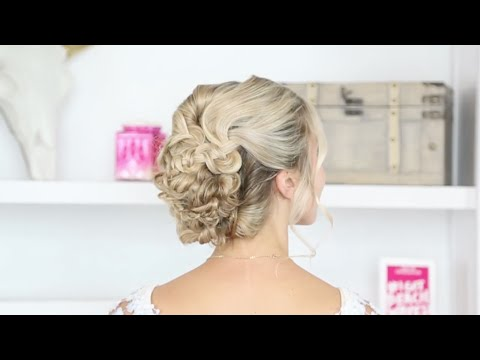 Tutorial: Braided Updo and Beach Waves