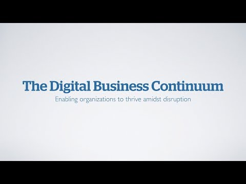 The Digital Business Continuum