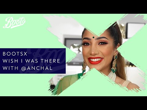 boots.com & Boots Discount Code video: Make-up Tutorial | Wish I was there with @anchal | BootsX | Boots UK