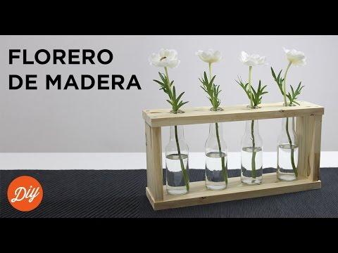 IDEA DIY: Crea un florero de madera con BLACK+DECKER™
