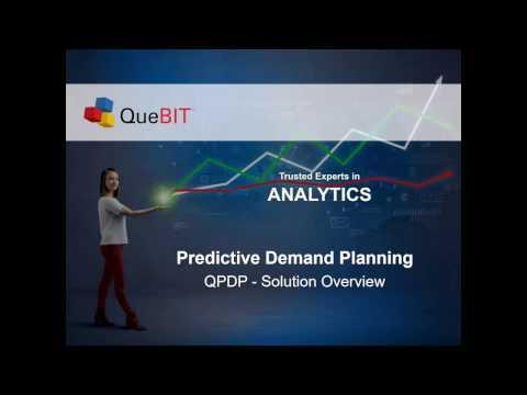 QueBIT Webinar - Predictive Demand Planning QPDP Solution