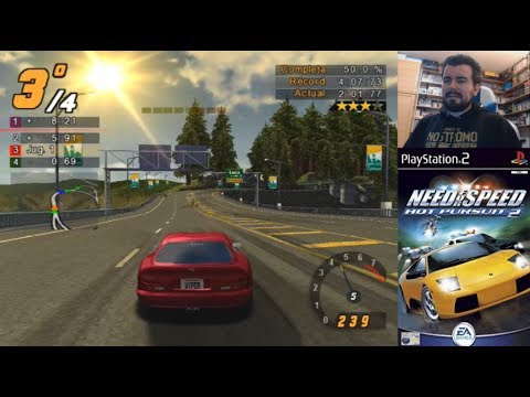 NEED FOR SPEED: HOT PURSUIT 2 (PlayStation 2) - Gameplay en Español || EVENTO PS2