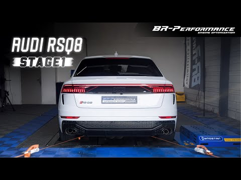 Urus Killer! Tuned Audi RSQ8 / Stage 1 By BR-Performance Mulhouse / Custom Exhaust