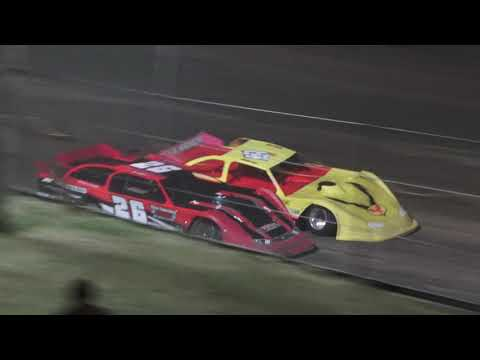 Late Model A-Feature at Mid Michigan Raceway Park, Michigan on 06-18-2021!! - dirt track racing video image