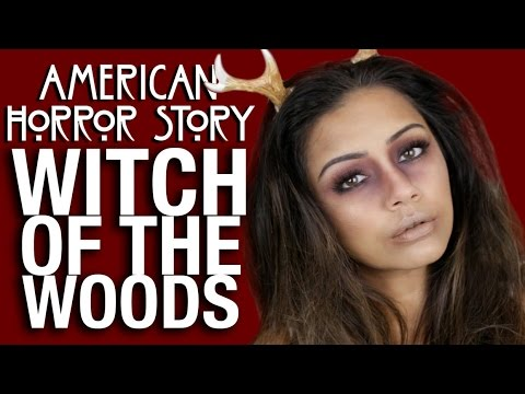 AHS Lady Gaga Witch of The Woods EASY Halloween Makeup Tutorial