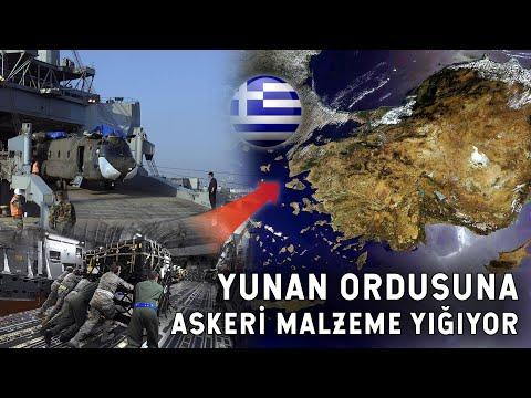 ABD'den Rakibimiz Yunanistan'a Askeri Destek! ABD ORDUSU=YUNAN ORDUSU