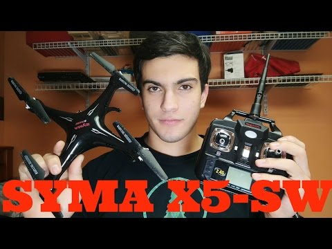 Syma X5SW Review and Test Flight - UCPa3IU2P22nMyEe0y8KgTeA