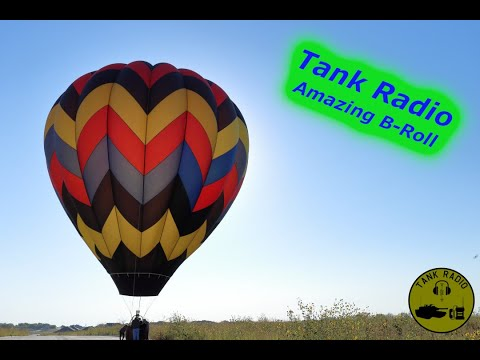 Amazing B-Roll of Hot Air Balloons on the Air