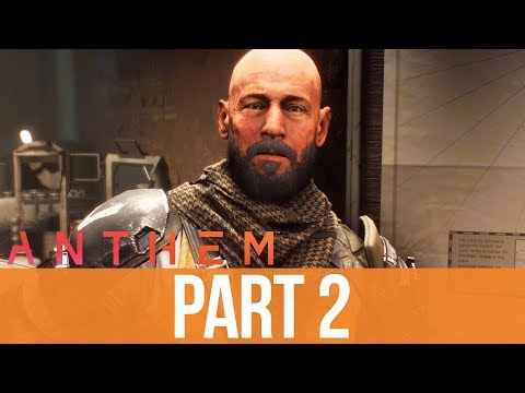 ANTHEM Gameplay Walkthrough Part 2 - CRAFTING UNLOCKED (Full Game)