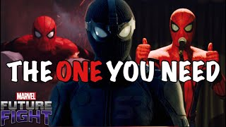 SPARKING RED VS STEALTH BLACK 👉 SPIDER-MAN UNIFORM COMPARISON👈 Marvel Future Fight