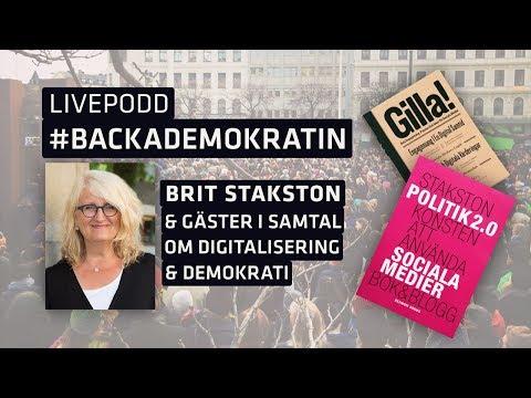 Digitaliseringen och demokratin - hot eller möjlighet? Och vad betyder en arena som Almedalen idag?