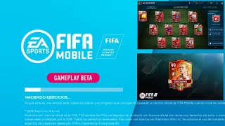BETA FIFA MOBILE 20 (Participa) ¿Cambio de posición, ultimate team como en fifa 15?   Fifa mobile 19