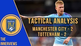 Manchester City vs Tottenham 2-2 | Tactical Analysis | How Spurs Survived De Bruyne's Dominance