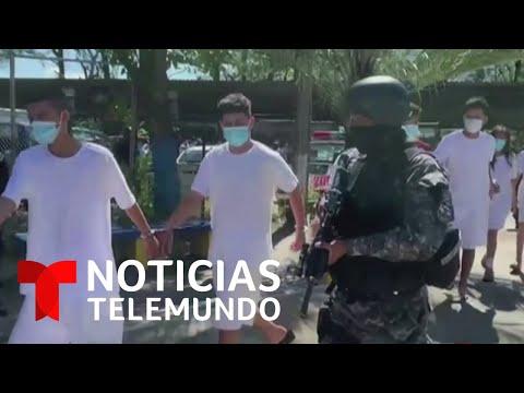 Aumentan a 762 los pandilleros salvadoreños arrestados en toda Centroamérica | Noticias Telemundo