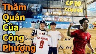 Đỗ Kim Phúc , Duy Trung đi thăm coffee Công Phượng ĐT Việt Nam trước đại chiến World Cup vs Thái Lan